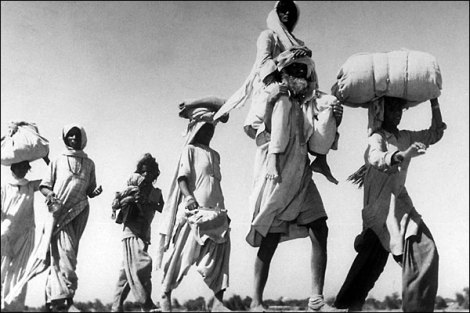 people migrating after partition of india