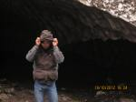 Infront of Avalanche Cave in MBC